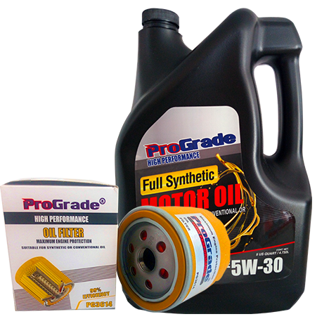 Prograde oil and filter